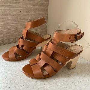 Kelsi Dagger Brown Weave Sandal